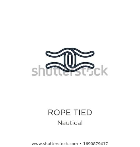 Cappio cravatta dettaglio imprenditore uomo triste Foto d'archivio © tiero