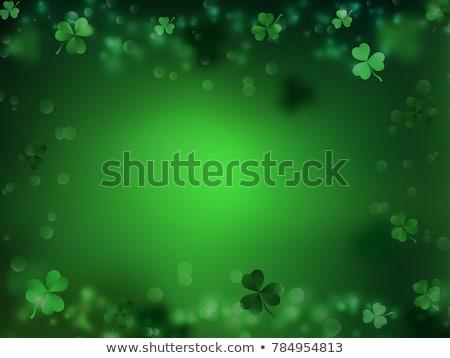 Foto stock: Abstrato · arco-íris · verde · ouro · papel · de · parede · férias