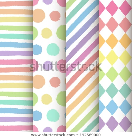 Set of four seamless rainbow patterns Stock photo © fixer00