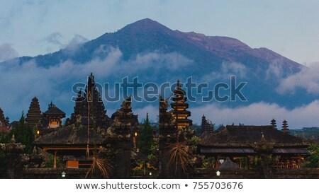 Foto stock: Templo · bali · Indonésia · paisagem · tropical · Ásia