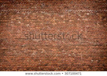 red brick wall corner stock photo © rmarinello