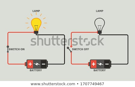Drawing electrical circuit Stock photo © a2bb5s