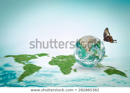 Stock photo: Pure energy - clean world
