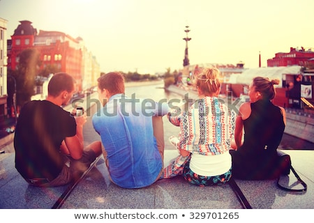 travelling student Stock photo © dolgachov