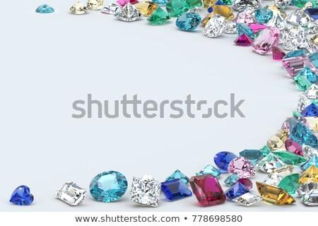 緑 ダイヤモンド エメラルド 石 ギフト ストックフォト © Wikki
