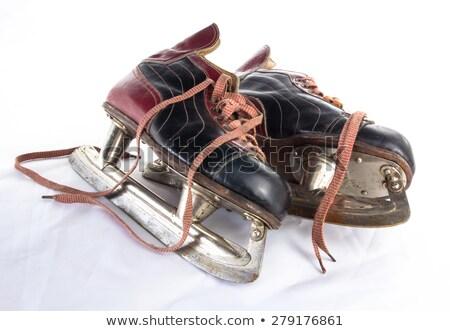 very old ice skates stock photo © hofmeester