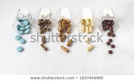 Cápsulas médico garrafa suicídio pílulas drogas Foto stock © wavebreak_media