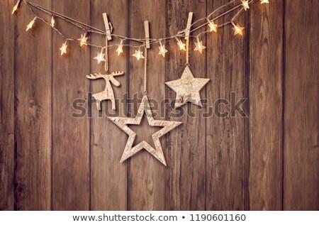 Wooden Moose Stock photo © winterling