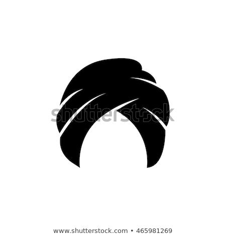 Vetor ícone turbante criança estrela Foto stock © zzve