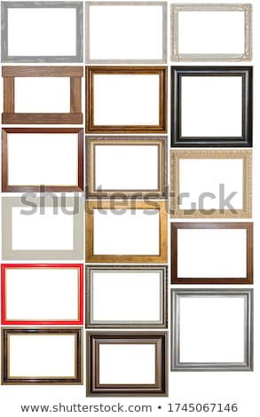 Antiquarian wood frame Stock photo © yul30