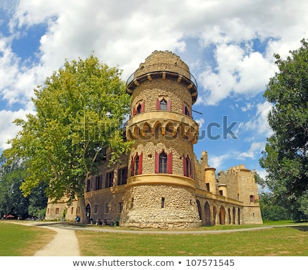 lednice palace unesco world heritage site czech republic stock photo © bertl123