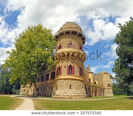 Lednice palace, Unesco World Heritage Site, Czech Republic Stock photo © Bertl123