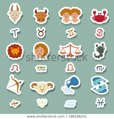 Stockfoto: Zodiac Stickers
