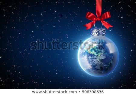 World Christmas ball Stock photo © adrenalina