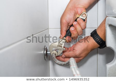 регулируемый металл ключа цвета инструментом Сток-фото © iofoto