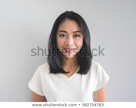 Portrait of a Filipino woman Stock photo © hlehnerer