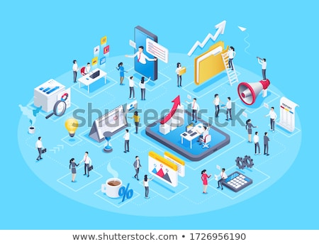Business growth elements Stock photo © zzve