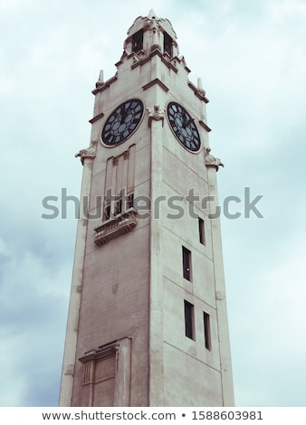 Montreal clock tower (Victoria Pier) Stock photo © aladin66