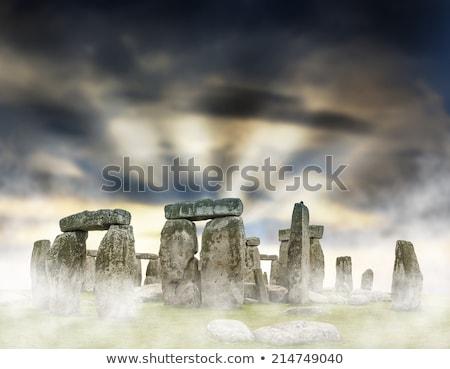 Titokzatos Stonehenge unesco világ örökség helyszín Stock fotó © Bertl123