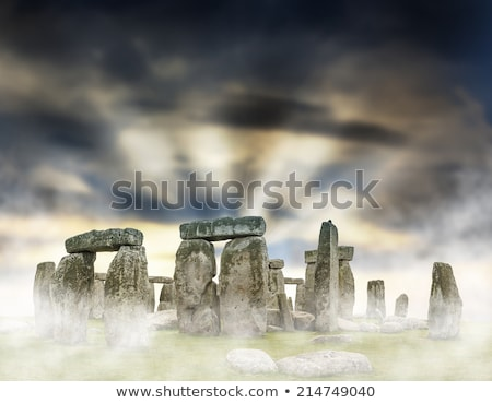 Mystical Stonehenge Stock photo © Bertl123