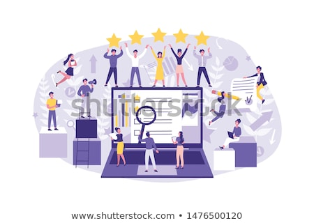 opinion business concept stock photo © tashatuvango