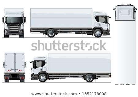 Trucks Equipped Stock fotó © Mechanik