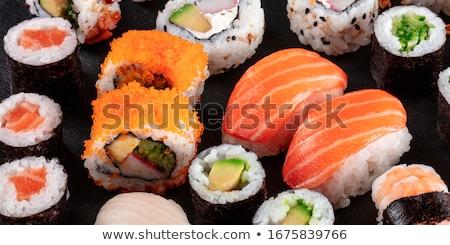 Califórnia maki sushi possível peixe Foto stock © Kirill_M