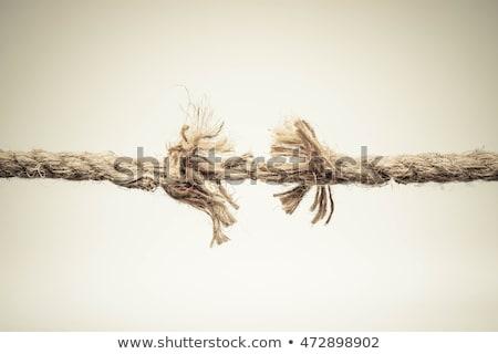 Breaking rope Stock photo © Stocksnapper