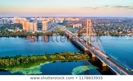bridge in Kiev city Stock photo © ssuaphoto