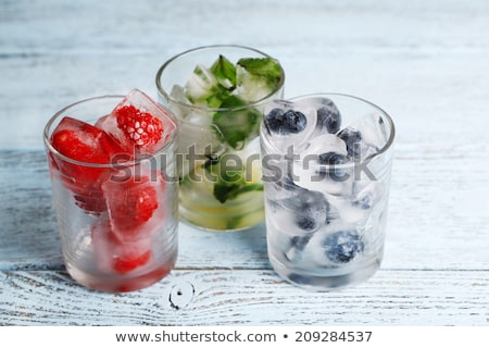 fruit in ice cube Stock photo © Tomjac1980
