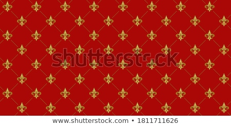seamless fleur de lys pattern  Stock photo © creative_stock