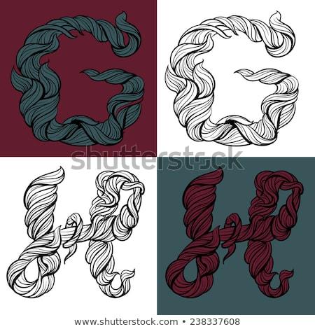 サークル · アイコン · ベクトル · 手紙 · ロゴ · ロゴデザイン - ストックフォト © shawlinmohd