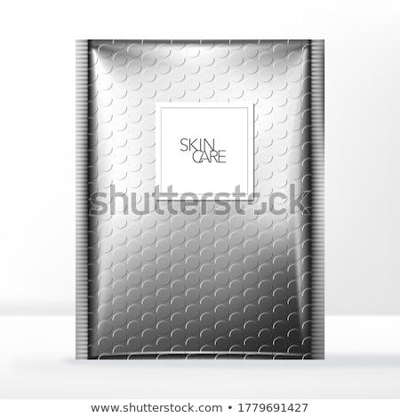 bulle · emballage · utilisé · plastique · brun - photo stock © shawnhempel