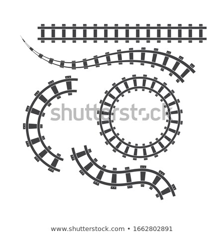 railway lines stock photo © dar1930