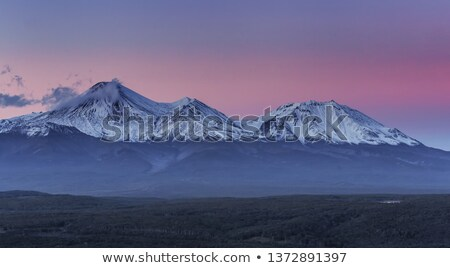 beautiful panoramic view of wild nature of kamchatka stock photo © amok