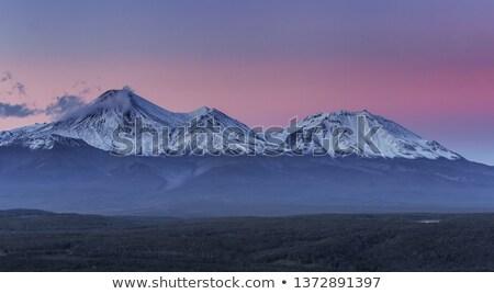 Stock photo: Beautiful panoramic view of wild nature of Kamchatka