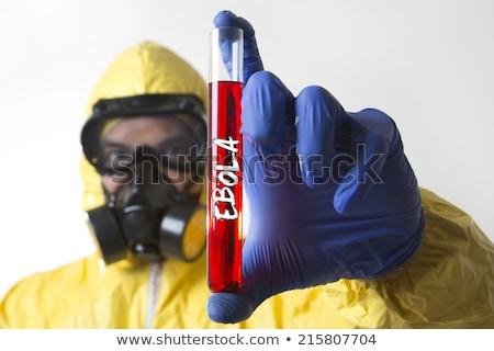 örnek · imzalamak · grafik · hasta · virüs · kavram - stok fotoğraf © lightsource