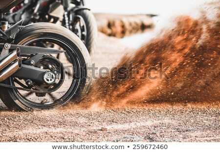 dirt wheel motorbike Stock photo © OleksandrO