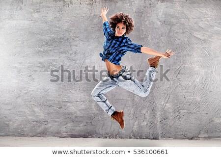 Jeunes hip hop danse vue homme Photo stock © blanaru