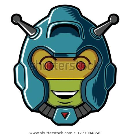 Funny military robot Stock photo © sharpner