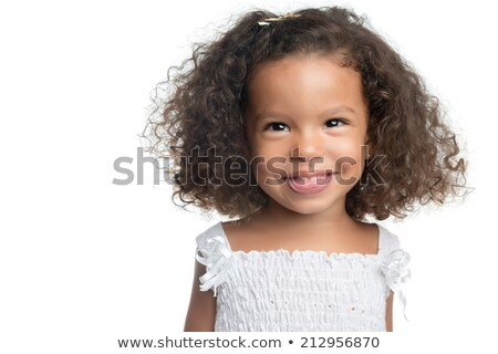 Happy afroamerican girl laughing Stock photo © Giulio_Fornasar
