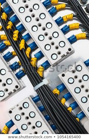 elettrici · potere · collage · innovativo · energia · industria - foto d'archivio © fantazista