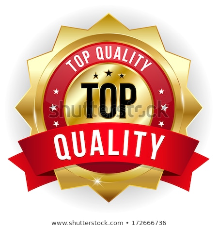 top quality red vector icon button stock photo © rizwanali3d