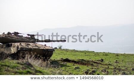 タンク · メイン · 戦い · 郡 · 戦争 · 電源 - ストックフォト © oleksandro