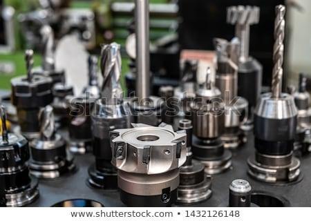 Ferramenta tecnologia metal indústria trabalhador industrial Foto stock © wime