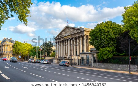National Assembly building in Paris Stock photo © AndreyKr