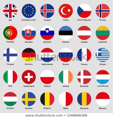 Brazília Görögország zászlók vektor kép puzzle Stock fotó © Istanbul2009