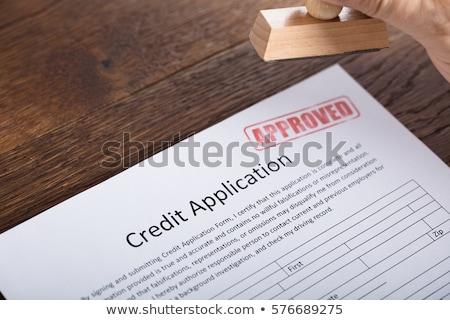 beruházás · bélyeg · pénzügyi · papír · üzlet · felirat - stock fotó © fuzzbones0