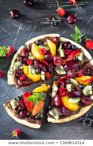 grupo · legumes · frutas · completo · vitamina · c · nutrientes - foto stock © saharosa