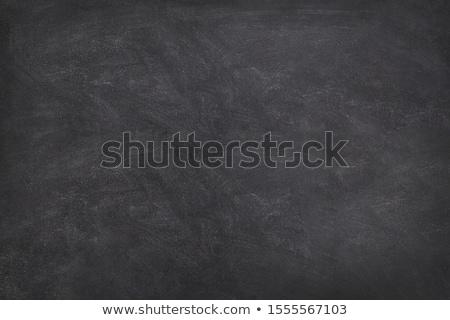 kréta · iskolatábla · színes · keret · felső · kilátás - stock fotó © karandaev
